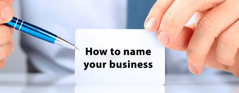 Guide to naming your business