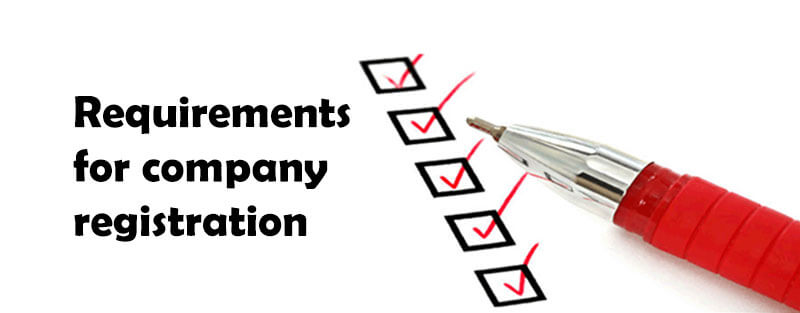 requirements for company registration